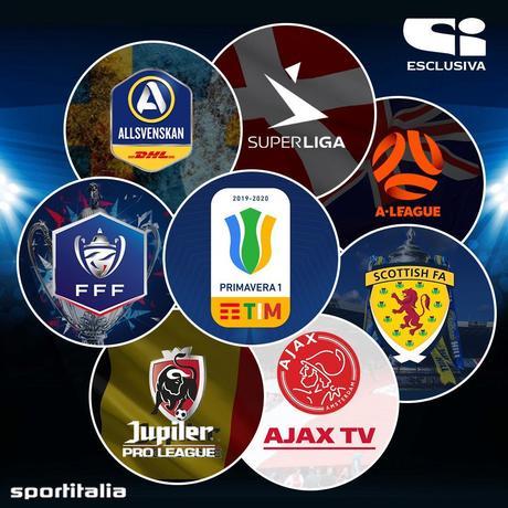 Sportitalia, Palinsesto Calcio dal 21 al 25  Novembre