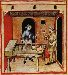 Storia dell'abbinamento cibo - vino.
