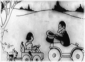 CAPPUCCETTO ROSSO (1922) . Il Film Ritrovato di Walt Disney .