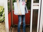 Bag,Denim,flowers Chanel.