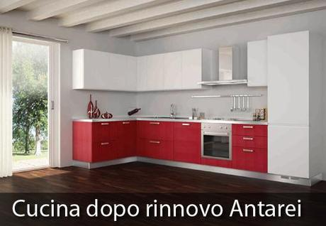 Gallery Of Awesome Cambiare Colore Ante Cucina Images Home ...