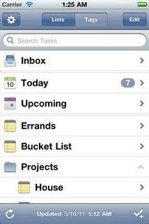 Organizza le tue attività con l'app The Hit List