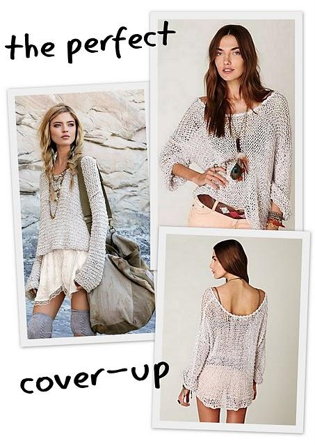 FASHION | sweaters for the beach