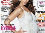 Jessica Alba incinta veste Dolce&Gabbana; Latina Magazine Agosto 2011