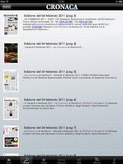 Cronaca di Mantova iPad Edition