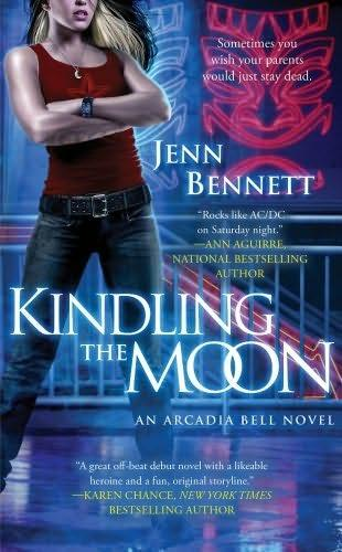 book cover of   Kindling the Moon    (Arcadia Bell, book 1)  by  Jenn Bennett