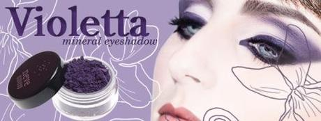 NEVE COSMETICS - Flower Power Collection 2011 (Ombretto minerale Violetta)