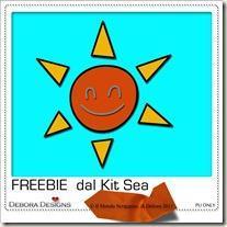 Freebie dal Kit Sea