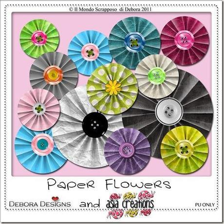 Preview Paper Flowers