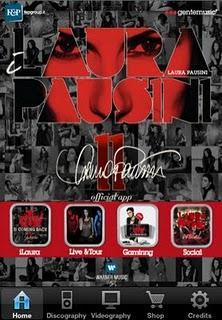 Per i fans di Laura Pausini l'app ufficiale iLaura