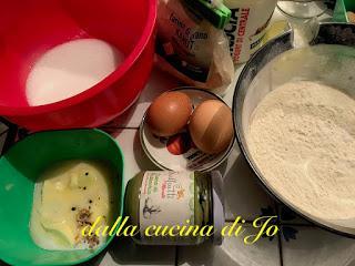 Tortine con crema di pistacchi