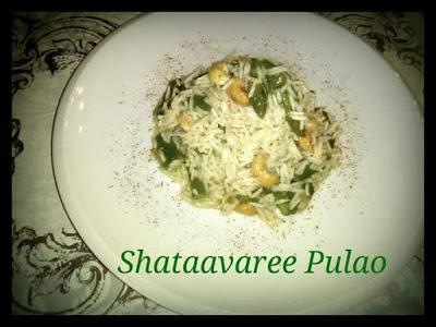 Ricetta Weight Watchers  Shataavaree Pulao
