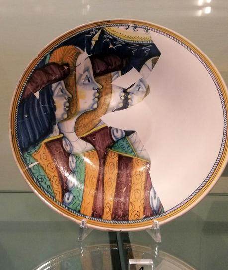 Il restauro della ceramica, dove siamo arrivati: integrazione delle lacune.