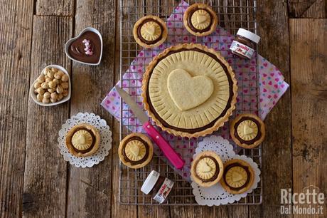 Crostata Nutella biscuits fatta in casa
