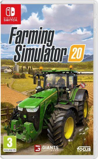 Farming Simulator 20 disponibile su Switch e mobile