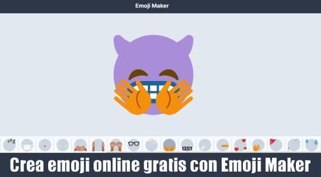 Crea emoji online gratis con Emoji Maker