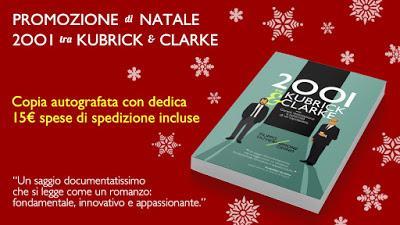 Promozione di Natale: 2001 tra Kubrick e Clarke autografato
