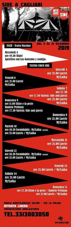 Cagliari Torna il circo contemporaneo in Città!