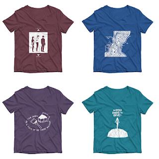 Ultimo remind per la seconda collezione di T Shirt del Buio in Sala