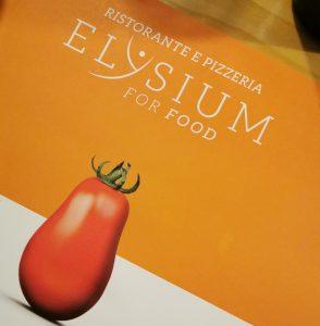 Elysium for food. Una buona pizza, ambasciatrice di un grande progetto che punta al benessere