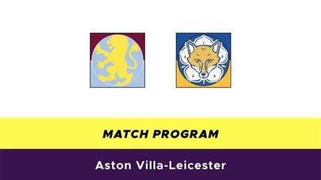 Aston Villa-Leicester probabili formazioni