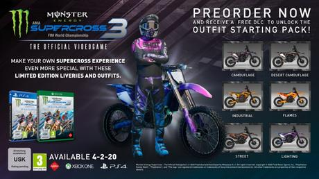 Monster Energy Supercross – The Official Videogame 3 e la nuova fisica