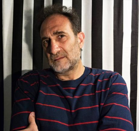 """Miguel Vitagliano, autore del romanzo  """"Tra le pietre"""" (Musicaos Editore),  in Italia per una serie di seminari e incontri coi lettori."""