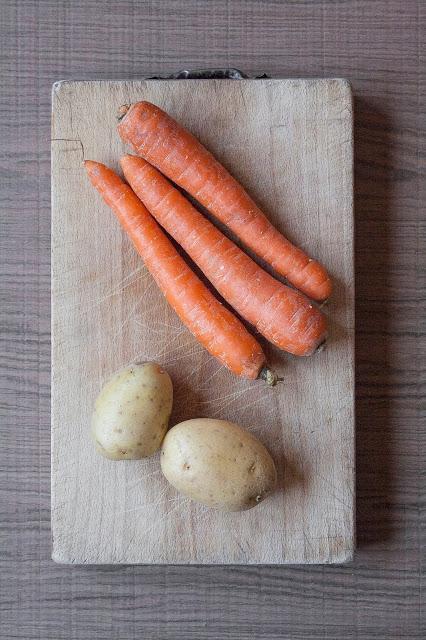 Vellutata di carote e patate, ricetta per lo svezzamento del bambino