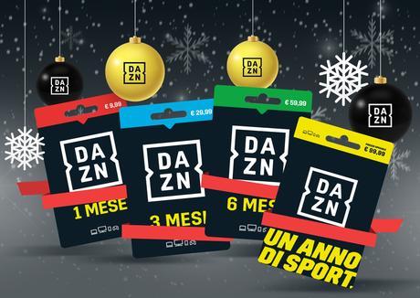 DAZN aggiunge magia al Natale con le gift card per tutti gli amanti degli sport.