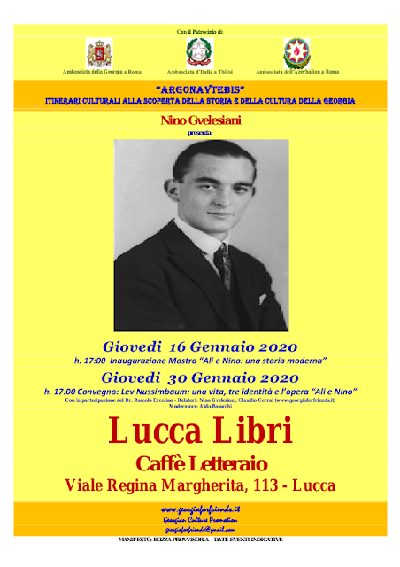 Romolo Ercolino presenta a Lucca  Essad Bay