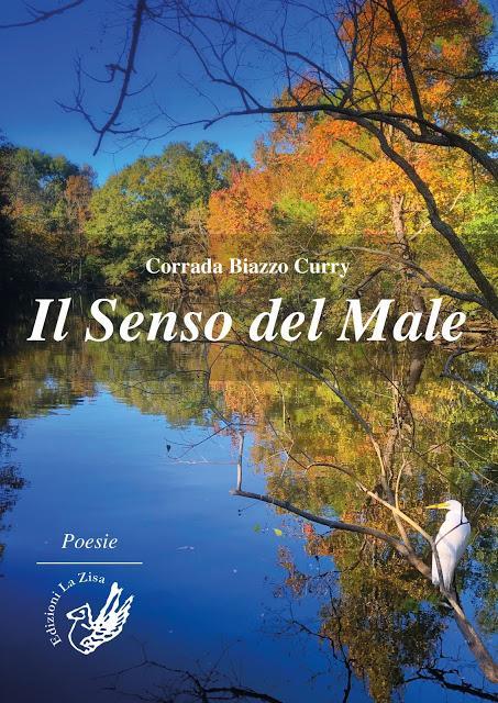 """Palermo 3 gennaio, Si presenta la silloge poetica dell'italo-americana Corrada Biazzo Curry, """"Il Senso del Male"""", Edizioni La Zisa"""