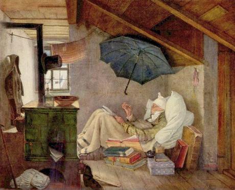 Carl Spitzweg, il povero poeta