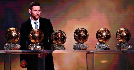 Lionel Messi e il sesto pallone d'oro
