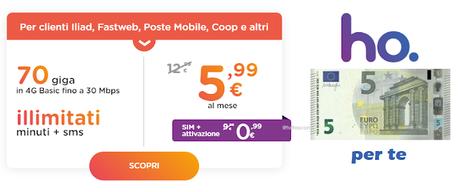 Conviene passare ad Ho.Mobile? La nostra esperienza + 5€ EXTRA per VOI!