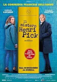 Il Mistero di Henri Pick il nuovo film della I Wonder Pictures