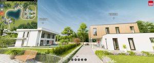 Case in legno: il primo parco virtuale 3D
