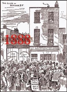 Whitechapel Society presents Dr. Elizabeth Yardley