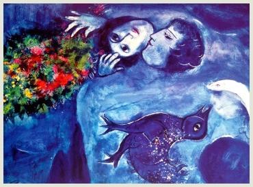 Il sogno di Chagall, mostra a Bologna - nota di Elisa Castagnoli