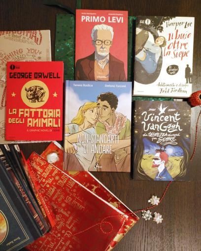 » Consigli Natalizi: alcuni libri da poter regalare a chi ami.