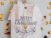 Natale fatto mano|Casetta finto legno Decorazione natalizia