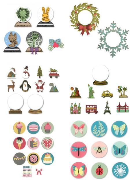 Natale fatto a mano | Tag di Natale con le Dimensional Domes di Sizzix