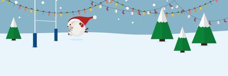 Buon Natale, buone feste e buon anno. E buon rugby