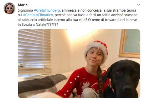A quella impunita di Greta Thunberg diciamo NO, facciamolo per i nostri figli!