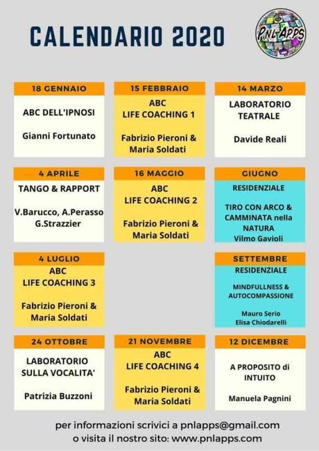 Gianni Fortunato Ipnosi + Calendario 2020