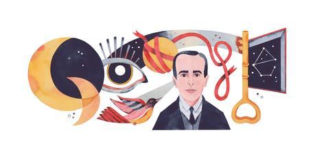google doodle vicente huidobro