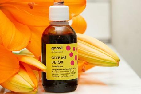 Goovi Give Me Detox: le mie opinioni e dove comprare