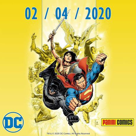 Panini Comics pubblicherà i fumetti DC Comics in Italia