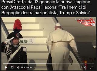 Le inchieste di Presa diretta - i nemici di papa Francesco
