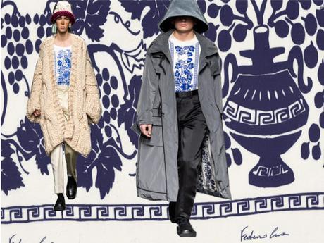 Federico Cina e la nostalgia della Romagna.  Roma Fashion Week Gennaio 2020. AltaRoma