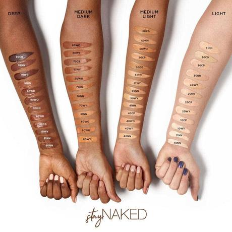 Stay Naked di Urban Decay. Recensione del fondotinta